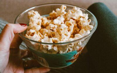 En perfekt filmaften, med særlige popcorn